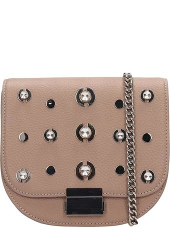 Lola Cruz Guss Taupe Leather Bag