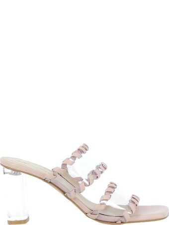 Kendall + Kylie Kendall+kylie Clear/siren Leather Sandals