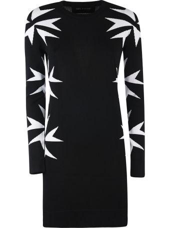 Neil Barrett Intarsia Dress