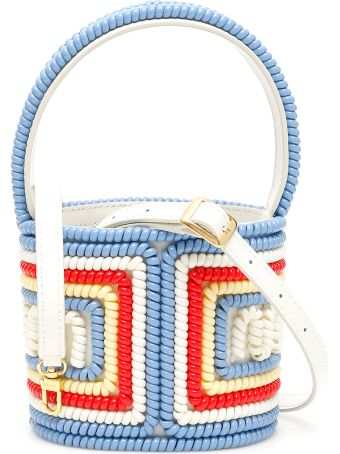 STAUD Mini Tele Bissett Bucket Bag