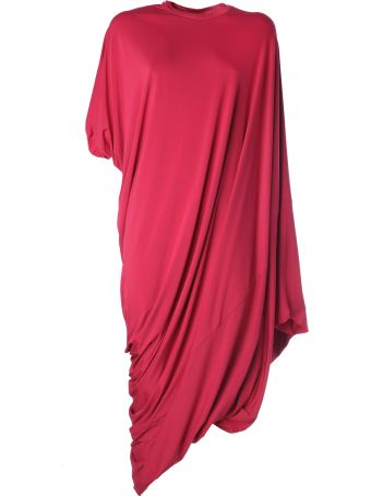 VETEMENTS Asymmetric Evening Dress