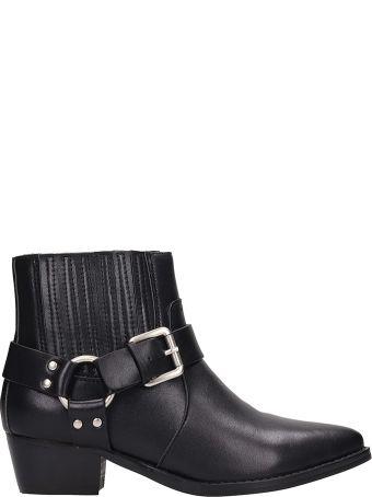Bibi Lou Black Leather Boots