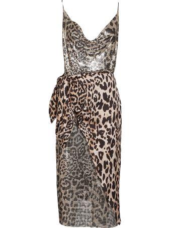 Paco Rabanne Leopard Print Dress