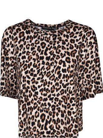 Veronica Beard Animal Print T-shirt