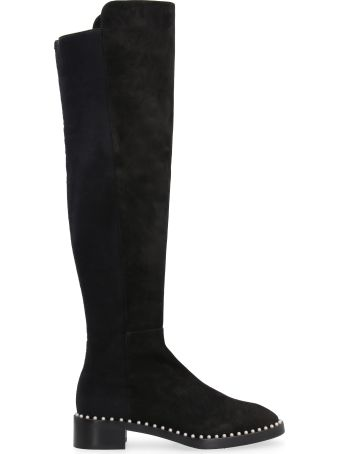 Stuart Weitzman 5050 Suede Over The Knee Boots