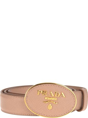 Prada Belt Logo Tondo