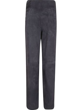 Alberta Ferretti High-waist Straight Leg Trousers