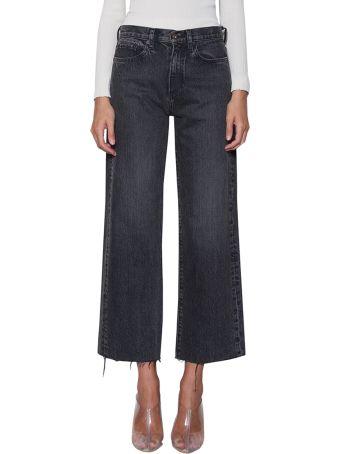 Simon Miller Nashua Cropped Cotton Denim Jeans