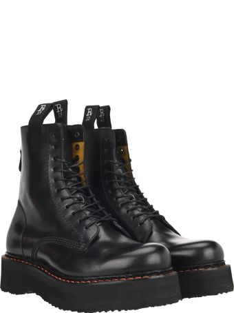 R13 Stack 40 Military Boots