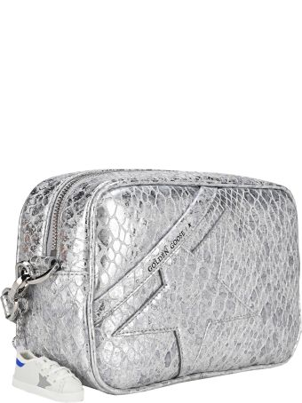 Golden Goose Laminated Cocco Print Star Bag