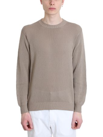 Maison Flaneur Beige Cotton Sweater