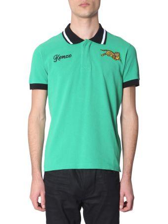 Kenzo Cotton Piqué Polo T-shirt