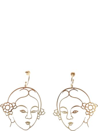 Simone Rocha Gold Plated Silver Earrings
