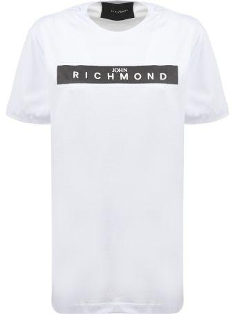 John Richmond Studded Logo T-shirt