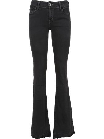 J Brand Jbrand Love Story Low Rise Flared Jeans