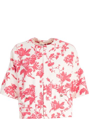 SEMICOUTURE Floral Printed Top