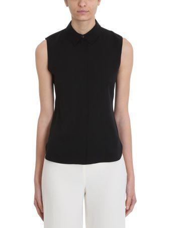 Theory Sleeveless Classic Collar Shirt