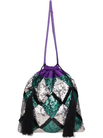 ATTICO Sequin-embellished Tote Bag