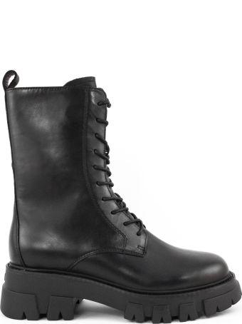 Ash Black Leather Liam Boots