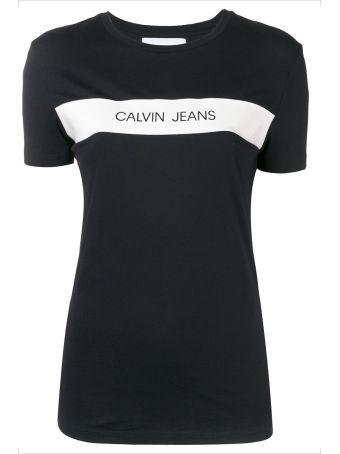 Calvin Klein Jeans Vinyl T-shirt