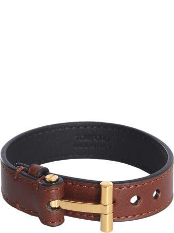 Tom Ford Leather Bracelet