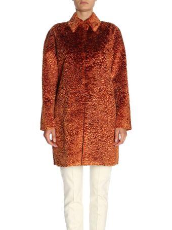 Stella Jean Coat Coat Women Stella Jean