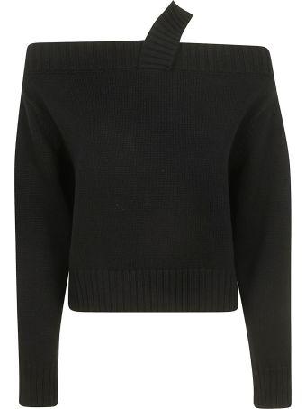 RTA Off-shoulder Long-sleeved Top