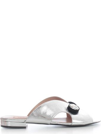Coliac Low Sandals W/crystals