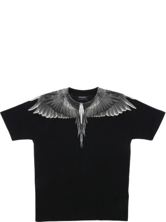 Marcelo Burlon Wings Print Short Sleeve T-shirt