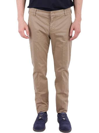 Entre Amis Stretch Cotton Trousers