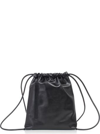 SEMICOUTURE Erika Cavallini Drawstring Bucket Bag