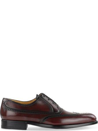 a.testoni Brogue Detail Oxford Shoes