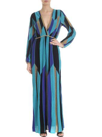 M Missoni Blue Long Dress
