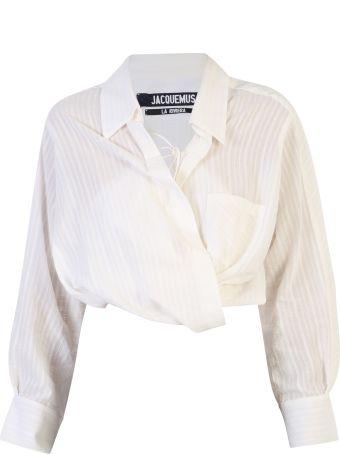 Jacquemus Cotton And Linen Shirt