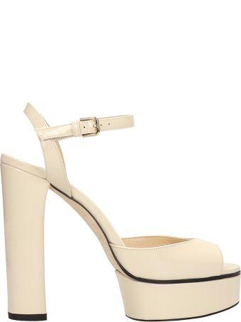 Jimmy Choo Peach Sandals