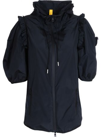 Moncler Ruffled Trim Jacket