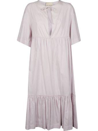 Erika Cavallini Striped Evening Dress