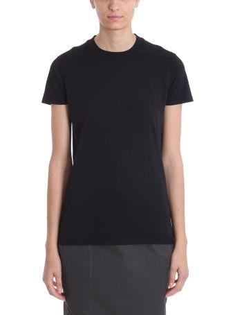DRKSHDW Black Cotton Ss Crew Level T-shirt