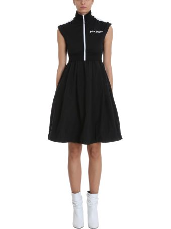 Palm Angels Black Polyester Dress