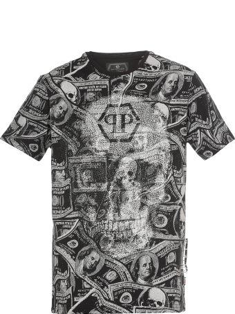 Philipp Plein Dollar  T Shirt