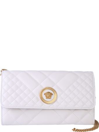 Versace Mini Quilted Leather Bag
