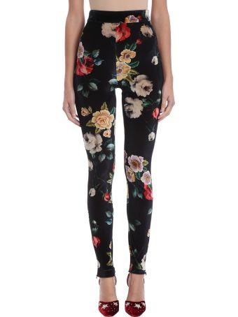 ATTICO Black Cotton Trousers