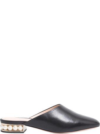 Nicholas Kirkwood Leather Mules