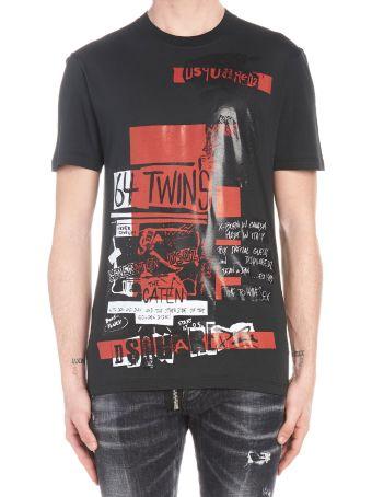 Dsquared2 'military Punk' T-shirt