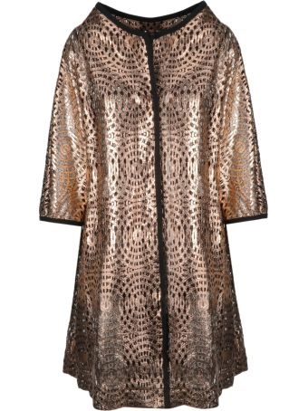 Herno Patterned Single-breasted Coat