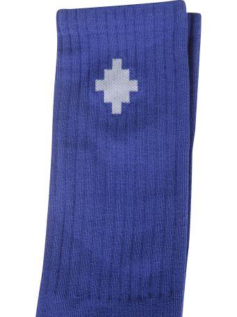 Marcelo Burlon Cross Sideway Midnight Socks