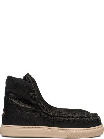 Mou Black Mini Eskimo Low Boot