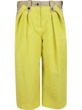 Sacai Contrast Panel Trousers