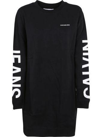 Calvin Klein Logo Print Dress