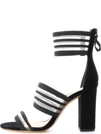 Alexandre Birman Shadow Sandal Black Suede